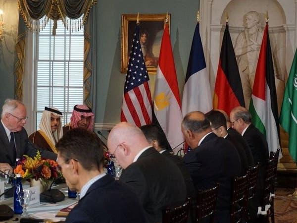 وزير الخارجية السعودي يبحث مستجدات سوريا باجتماع واشنطن