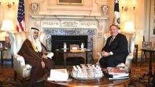 Pompeo meets with Saudi Arabia's FM Prince Faisal bin Farhan