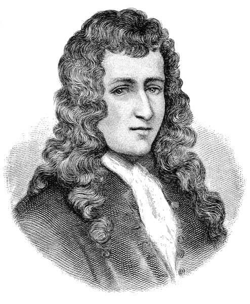 رسم تخيلي للمستكشف الفرنسي روبرت كافلييه دي لا سال