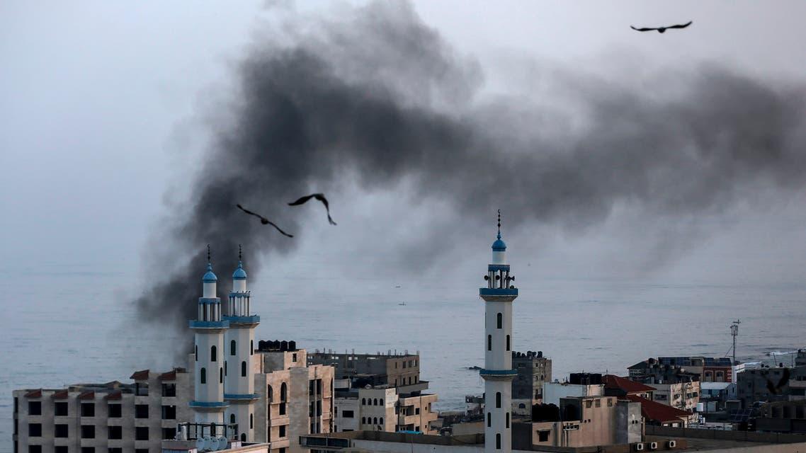 من قصف غزة