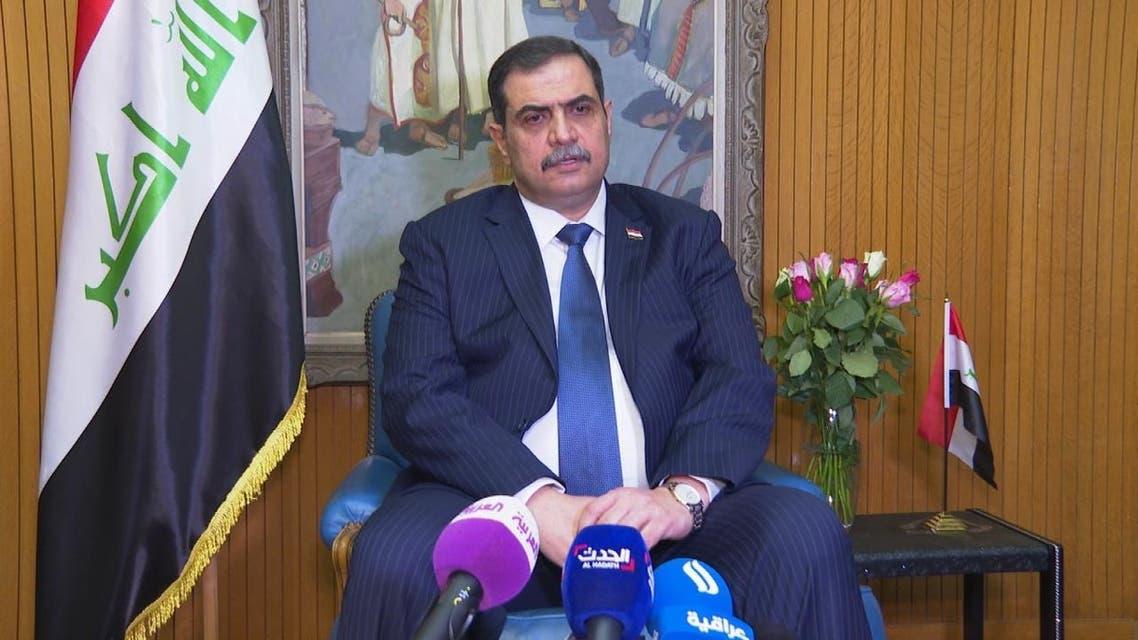 وزير الدفاع العراقي :طرف ثالث يقتل المتظاهرين والعتاد لم تستورده أي جهة عراقية