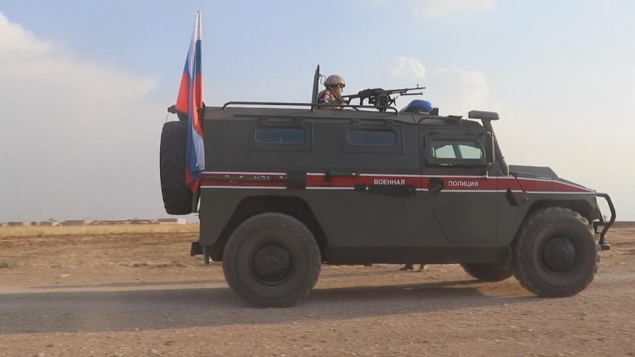 قوات روسية بسوريا