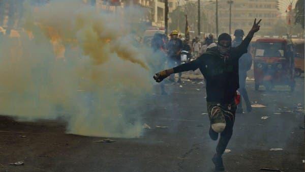 الصحة العراقية: 111 قتيلا بالمظاهرات والقنابل غير سامة