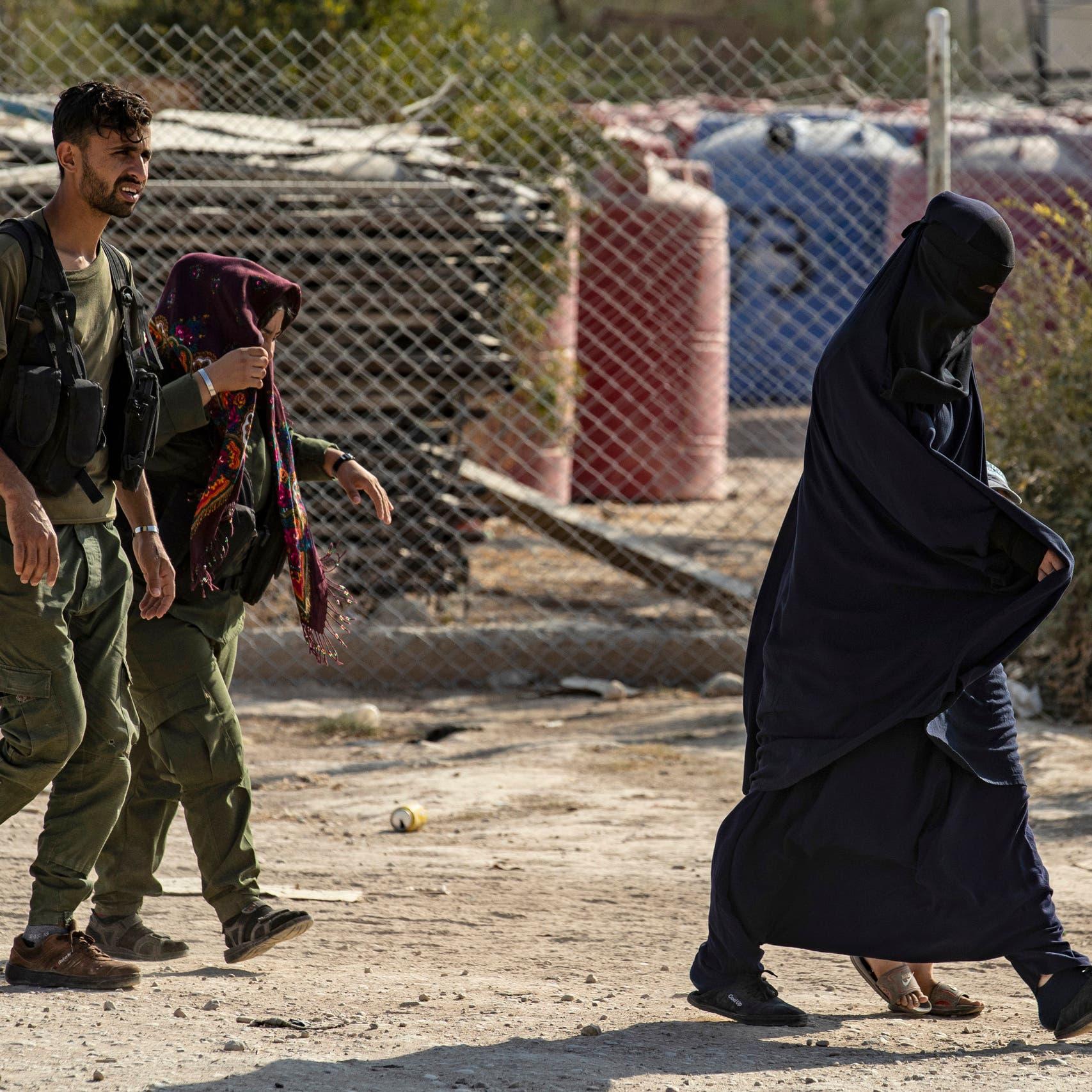 زوجات الدواعش وأطفالهم بسوريا.. 700 توفوا في المخيمات