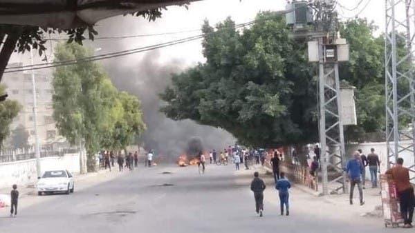 الطيران الإسرائيلي يستهدف ميناء خان يونس جنوب قطاع غزة