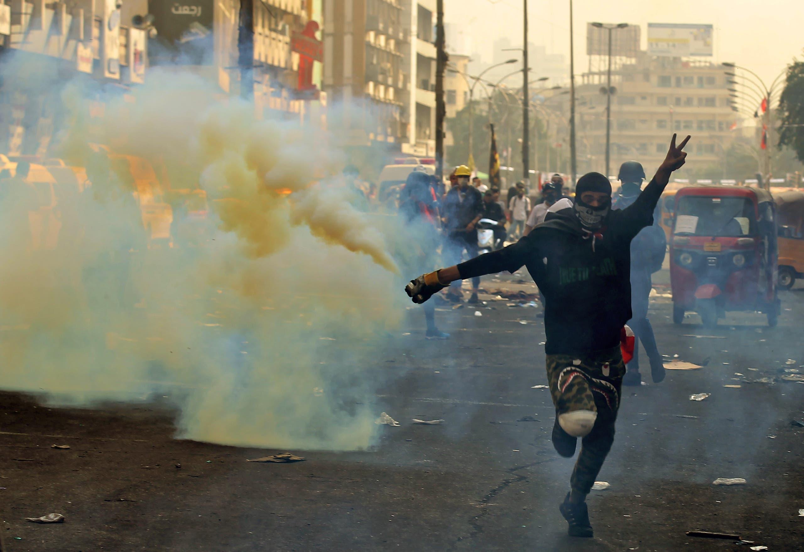 من العراق(14 نوفمبر 2019- فرانس برس)