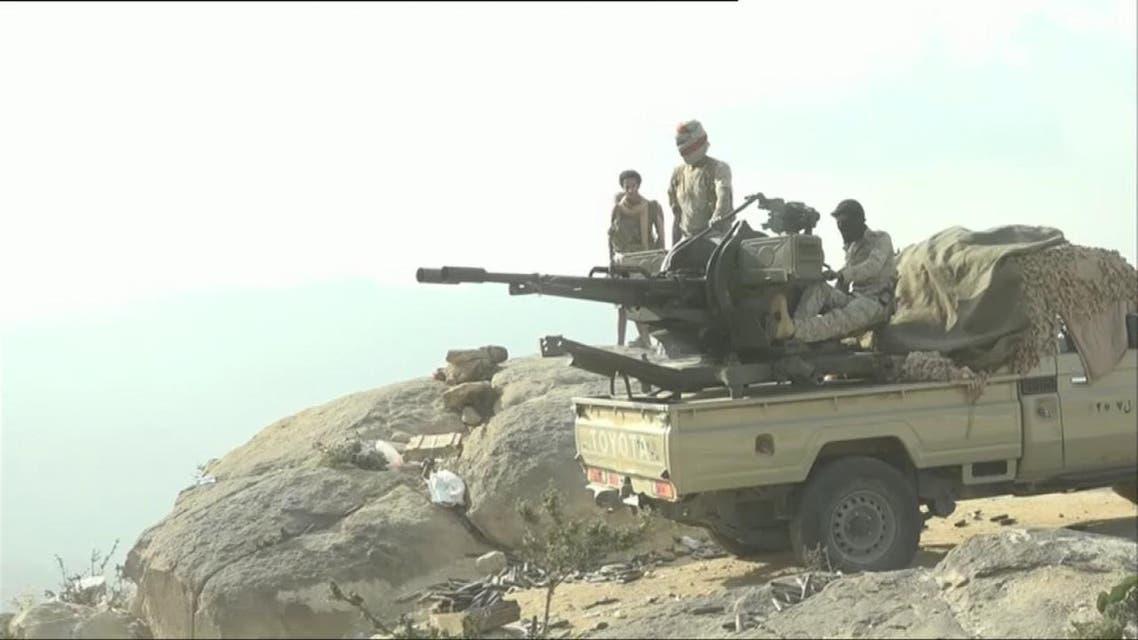 THUMBNAIL_ العربية ترافق الجيش اليمني الوطني في مهمة تأمين مناطق محررة