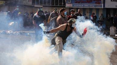 """حرب الجسور تتواصل ببغداد.. المحتجون يستعيدون """"الأحرار"""""""