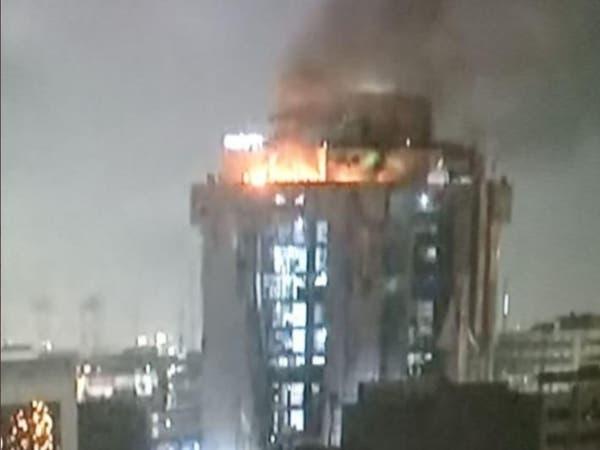 العراق.. نشوب حريق بالطوابق العليا في المطعم التركي ببغداد