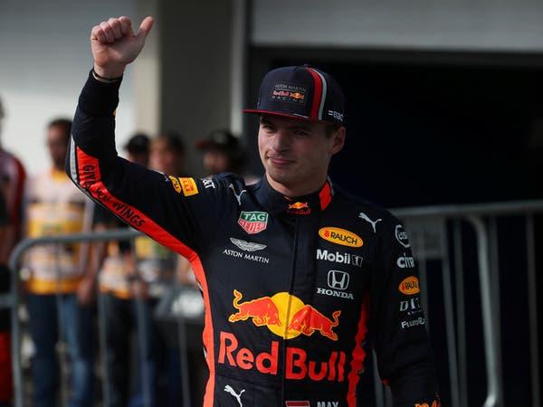 السائق النمساوي بعد تحقيقه المركز الأول