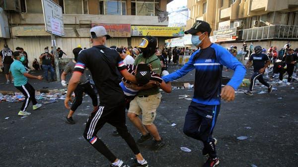 اشتباكات وسط بغداد.. وإصابات ببنادق الصيد مجدداً