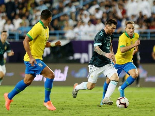 """مدرب البرازيل: طلبت من ميسي """"إغلاق فمه"""""""