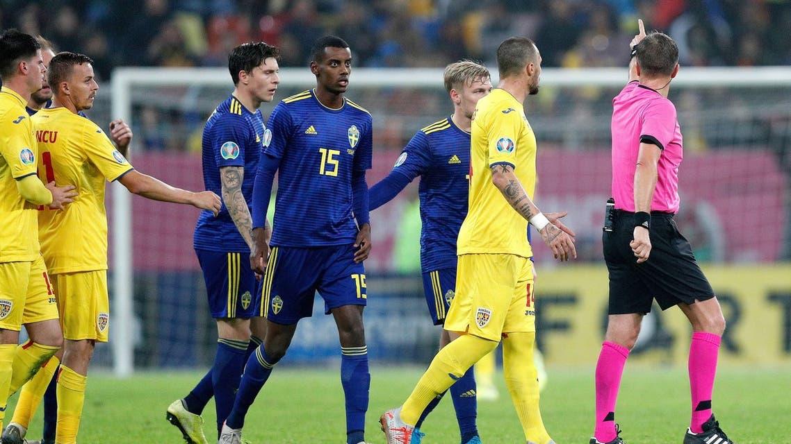 إيزاك السويد عنصرية رومانيا