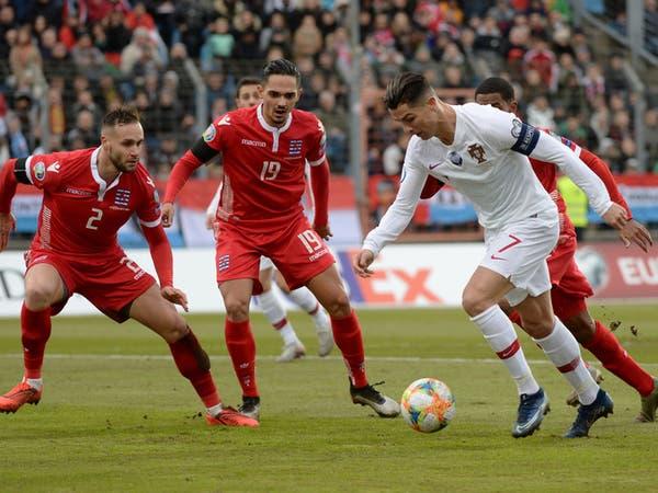 """هدف واحد يفصل رونالدو عن نادي الـ""""100"""".. والبرتغال تتأهل إلى يورو 2020"""
