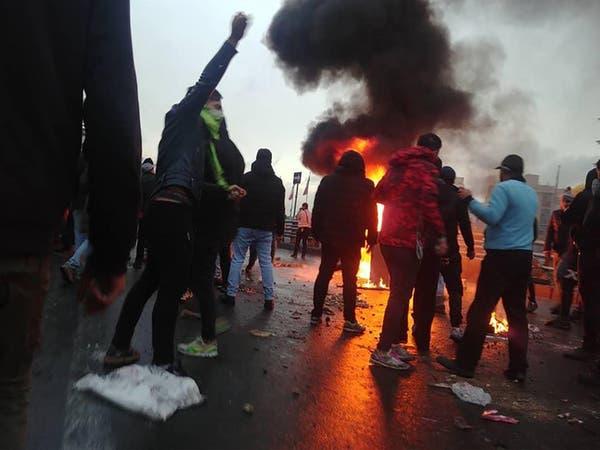 إيران.. مقتل 36 شخصاً واعتقال 1000 متظاهر خلال يومين
