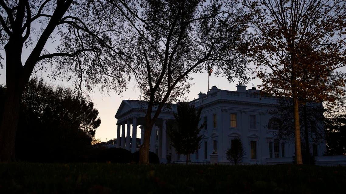 The sun rises over the White House, Wednesday, Nov. 13, 2019, in Washington. (AP)