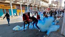 بغداد میں احرار پُل پر مظاہرین اورعراقی فورسز میں جھڑپ ، ایک شخص ہلاک،32 زخمی