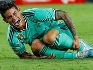 إصابة في الركبة تبعد خاميس عن ريال مدريد حتى نهاية العام