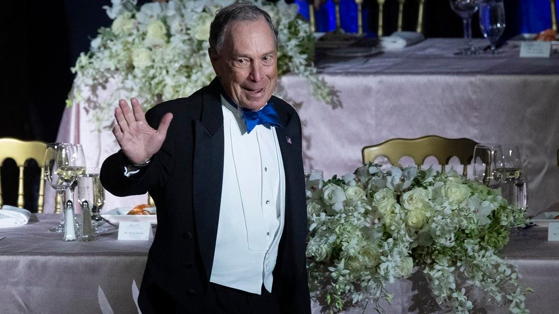 Michael Bloomberg, Founder of Bloomberg LP and Bloomberg Philanthropies, arrives for the 74th Annual Alfred E. Smith Memorial Foundation Dinner, on October 17, 2019, in New York. (AP