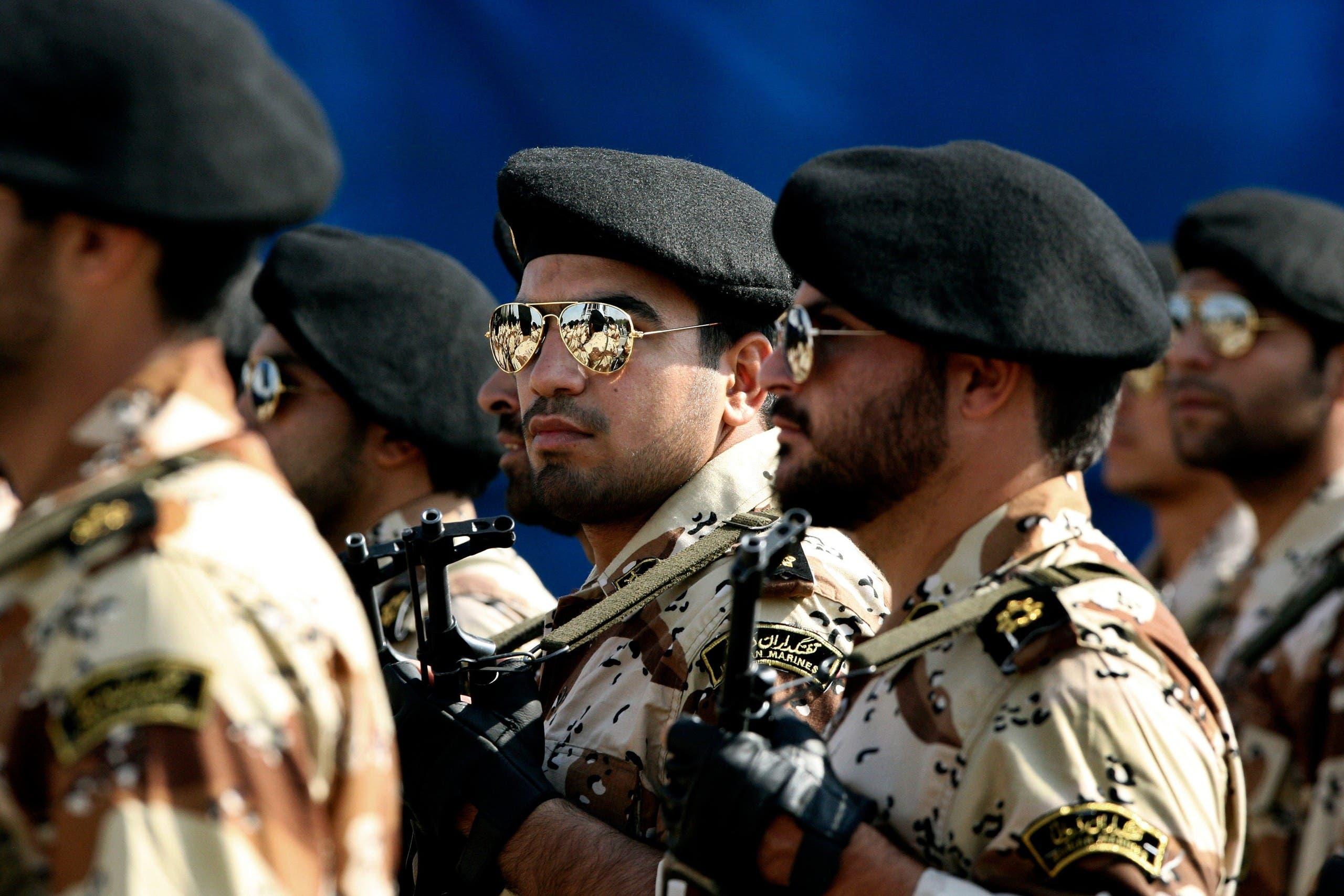 أفراد من الحرس الثوري الإيراني