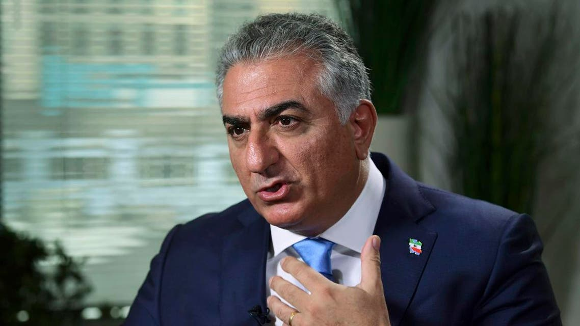 Reza Pahlavi, the exiled son of Iran's last shah before the 1979 Islamic Revolution and a critic of the country's clerical leaders, speaks during an interview with The Associated Press in Washington, Tuesday, Jan. 9, 2018. (File photo: AP)
