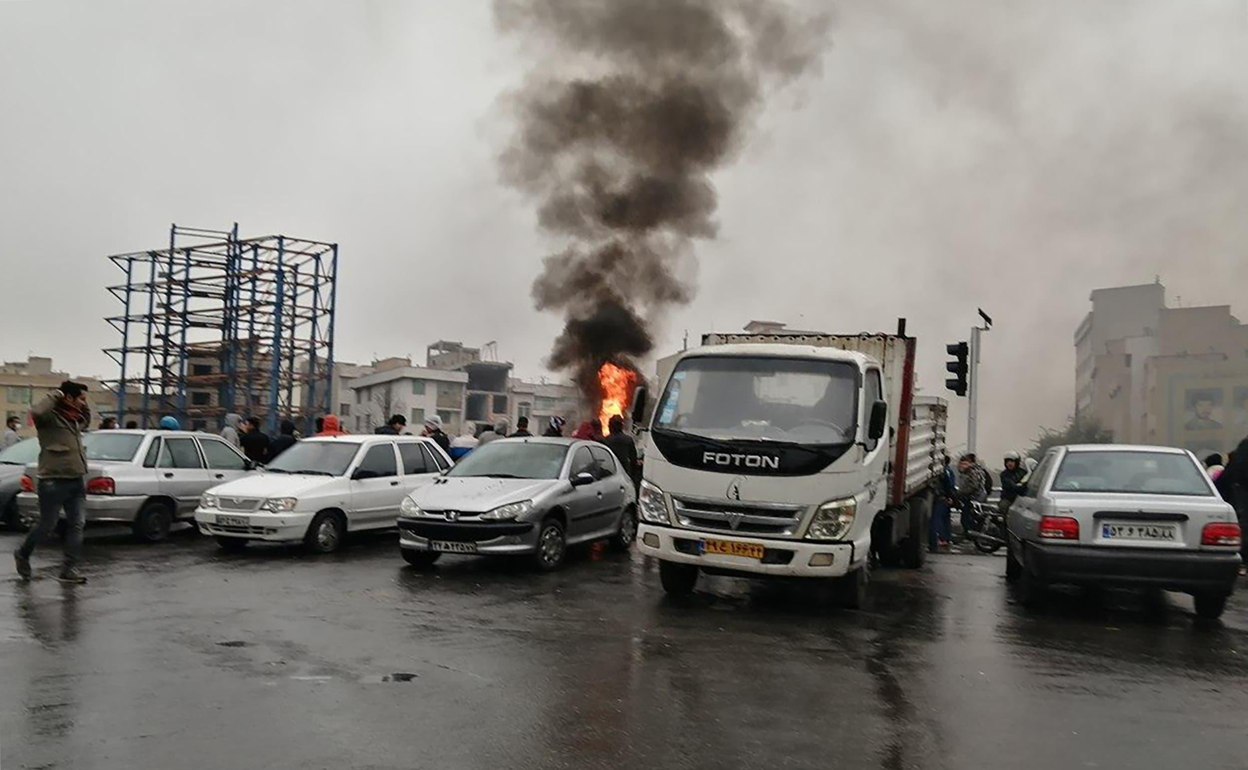 احتجاجات إيران - طهران