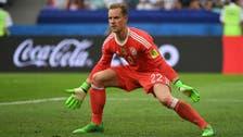 تير شتيغن يحمي مرمى ألمانيا أمام مقدونيا