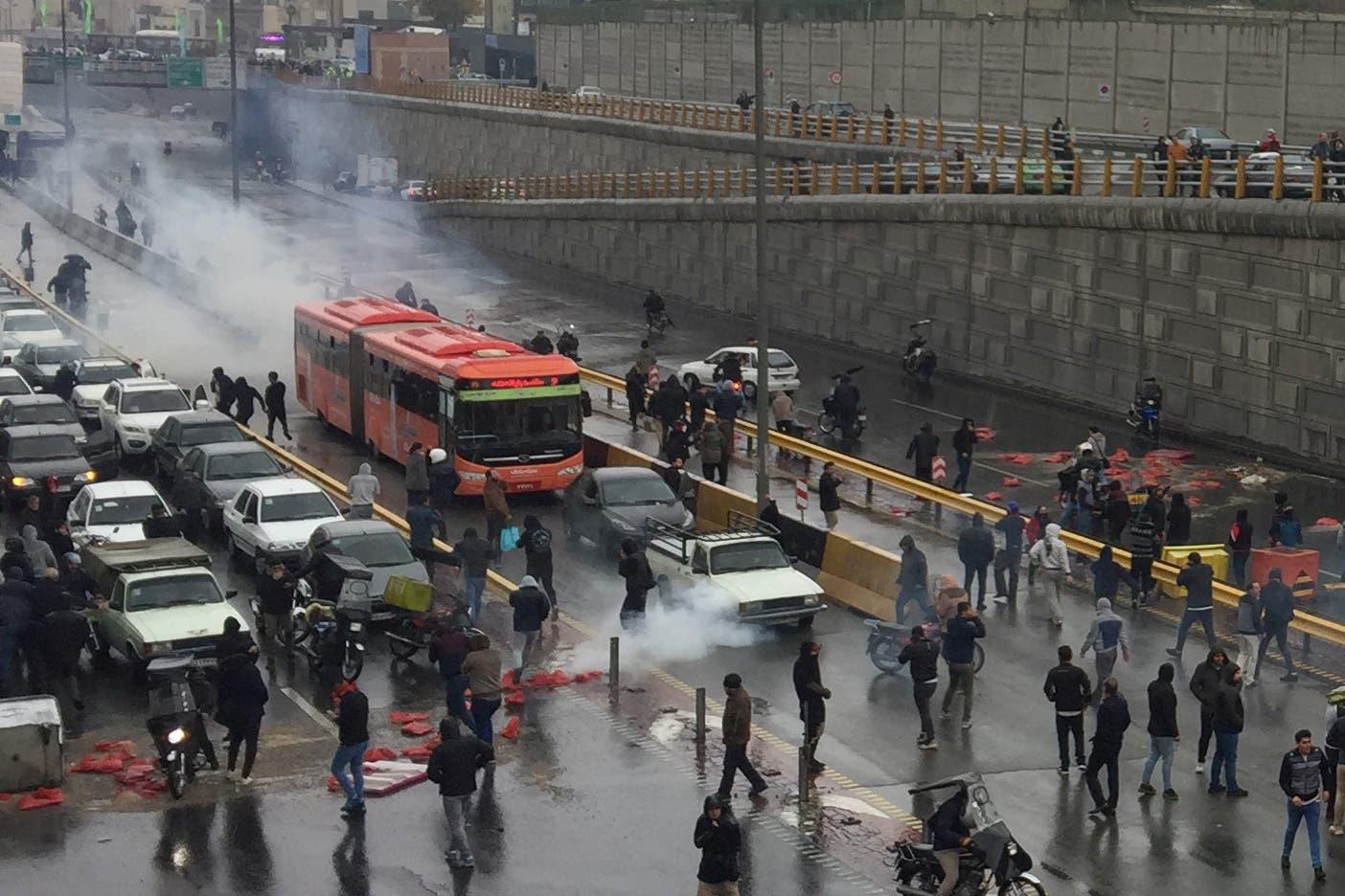 مظاهرات في إيران - أرشيفية