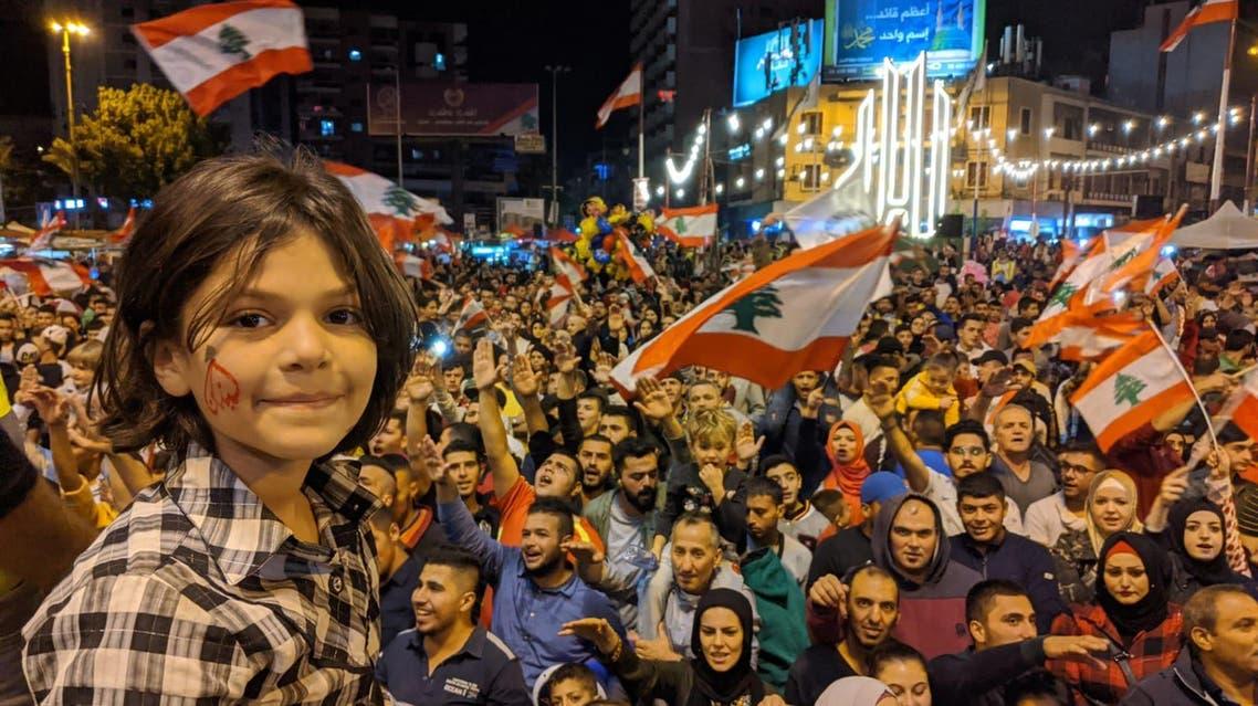 Tripoli protests, taken by Emily Lewis on November 17, 2019.(Emily Lewis)