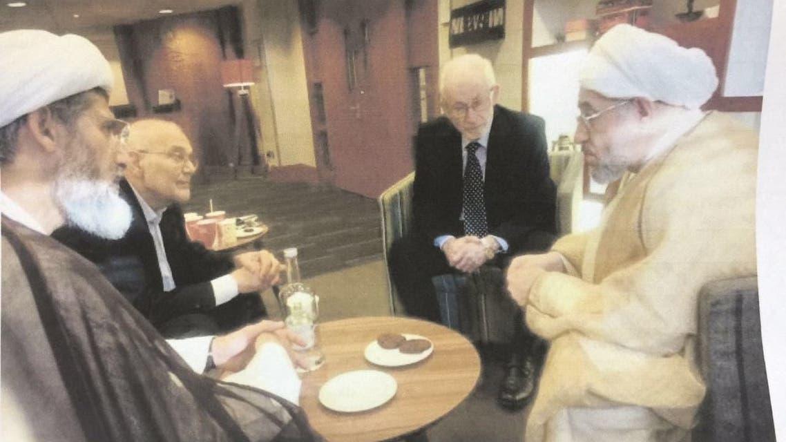إبراهيم منير مع محسن الأراكي وقيادات مقربة من خامنئي