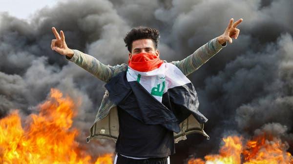 مظاهرات بغداد مستمرة.. ومحتجون يغلقون ميناء خور الزبير
