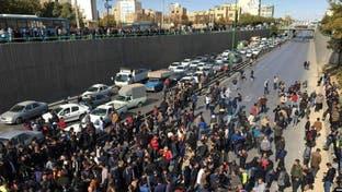 مشارکت شبهنظامیان حشد الشعبی عراق در سرکوب تظاهرکنندگان در ایران