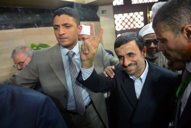 أحمدي نجاد في مصر