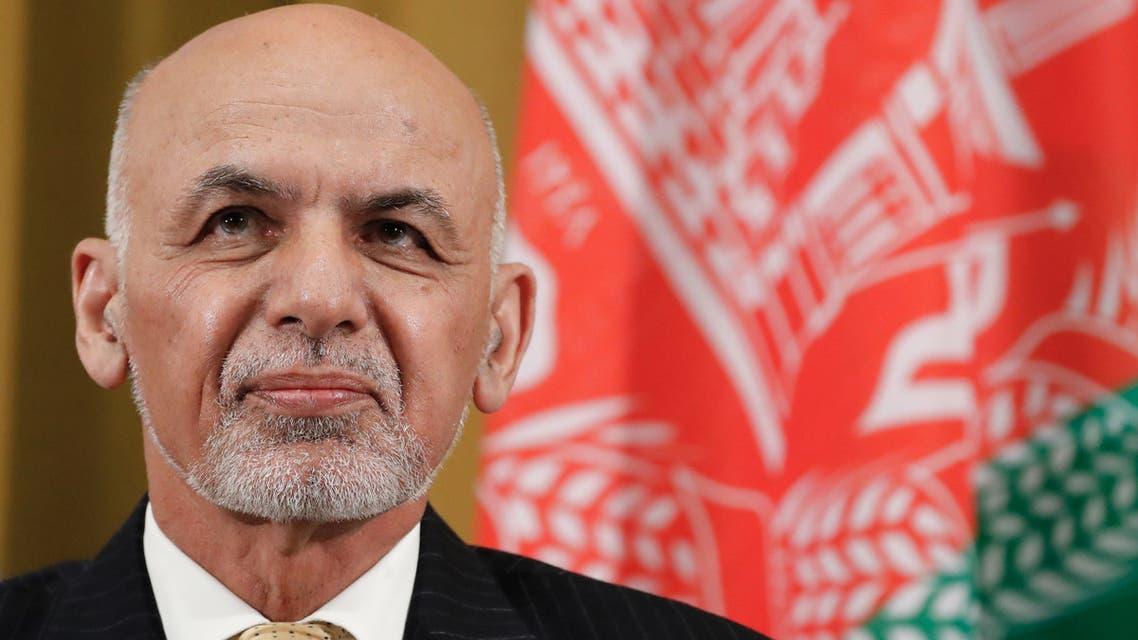 Afghan President Ashraf Ghani Afghanistan November 2018 in Geneva