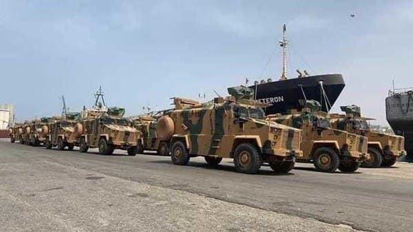 تعزيزات عسكرية تركية بميناء الخمس شرق العاصمة الليبية