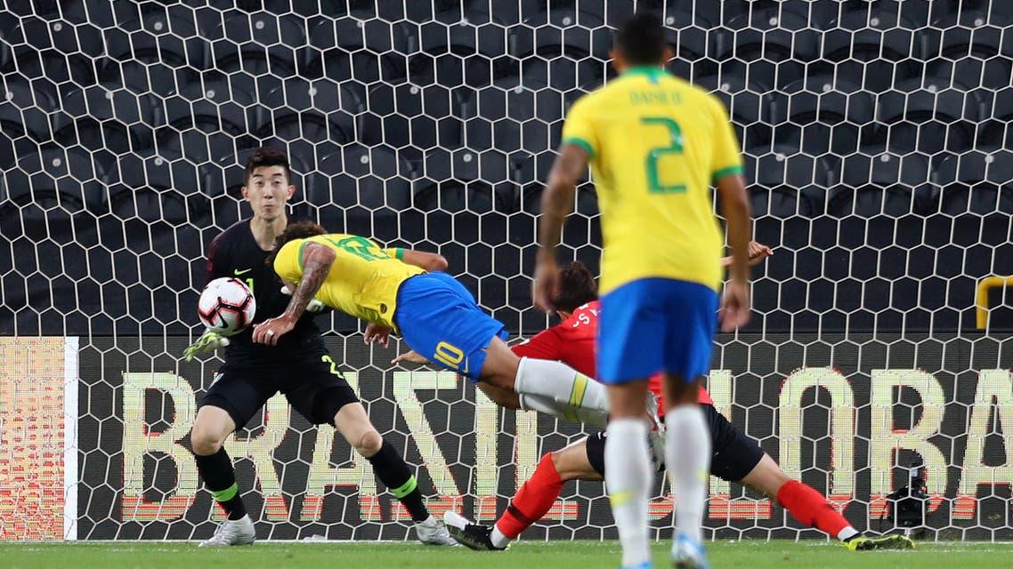 باكيتا البرازيل كوريا