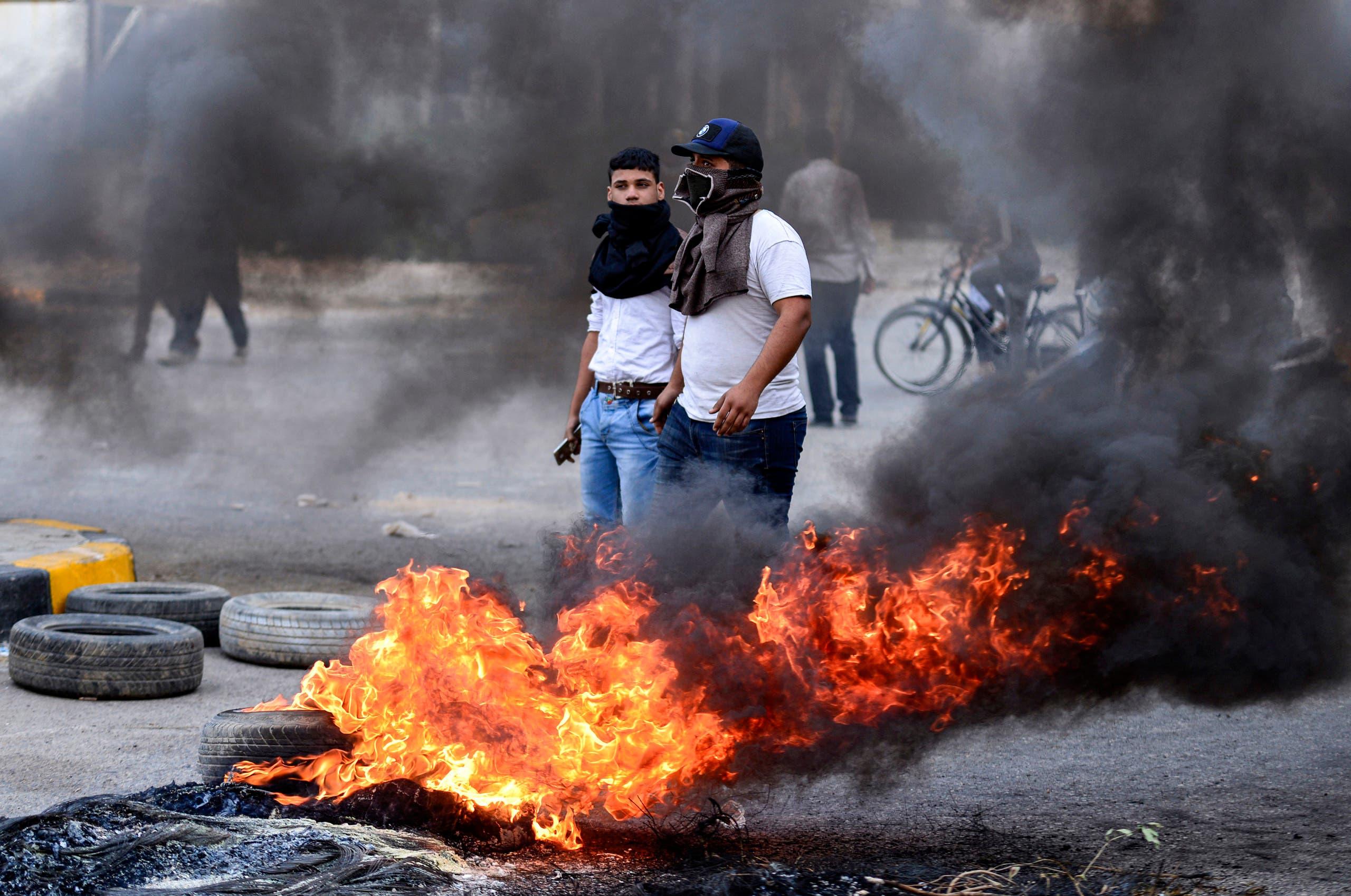 مشاهد من نظاهرات بغداد