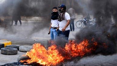 """""""حرب جسور"""" بين المتظاهرين والقوات الأمنية في بغداد"""