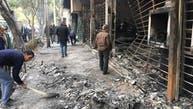 به آتش کشیدن دفاتر نمایندگان خامنهای