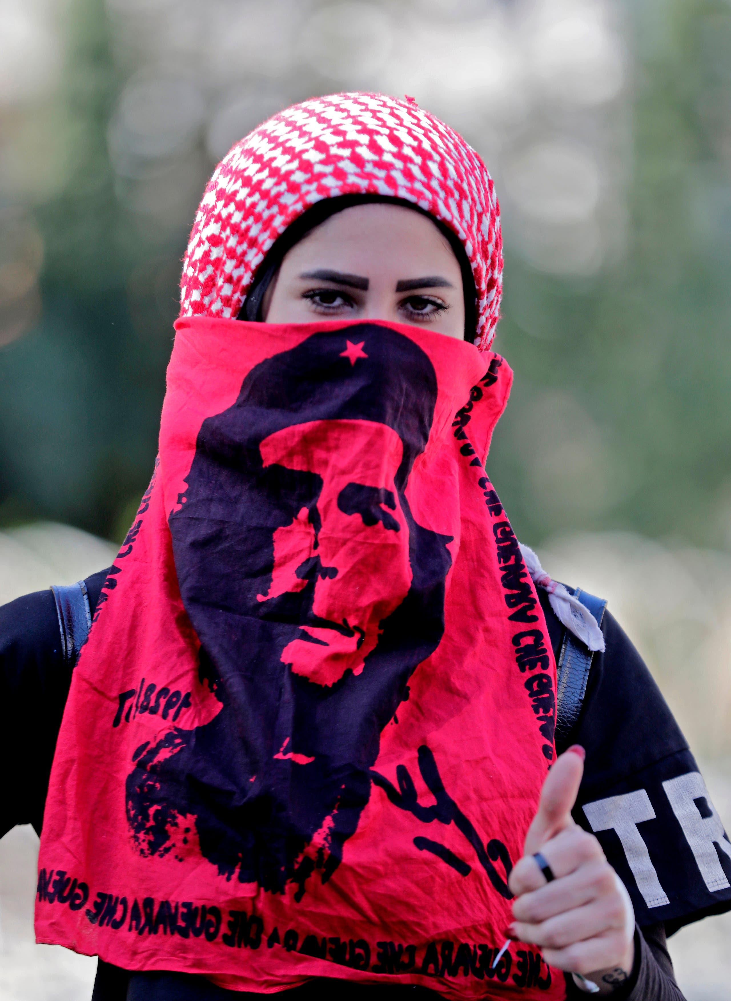من تظاهرات لبنان(19 نوفمبر 2019- فرانس برس)