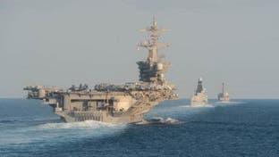 عبور ناو هواپیمابر آمریکایی از تنگه هرمز علیرغم تنشهای مستمر با ایران