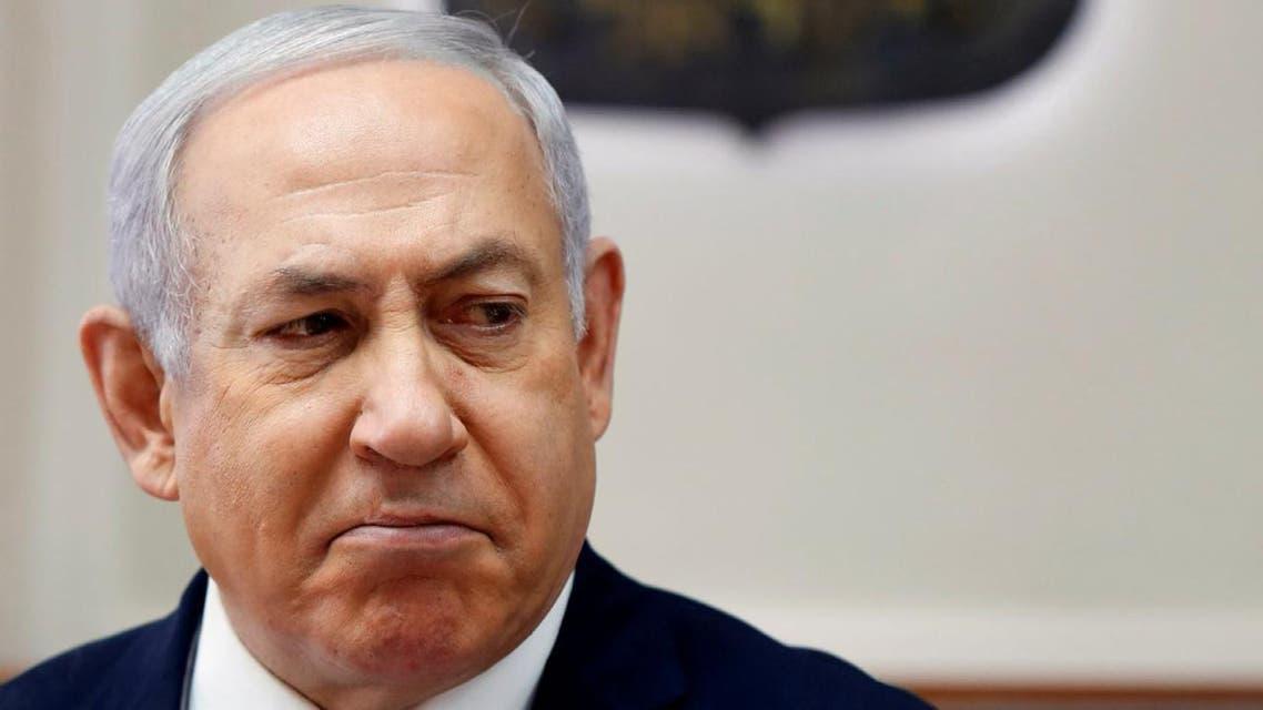 THUMBNAIL_ نتنياهو ومن وزير الدفاع الاسرائيلي