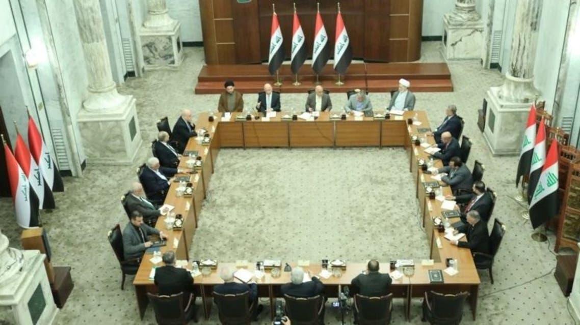 الصورة التي تحدثت اجتماع القادة السياسيين مؤخراً