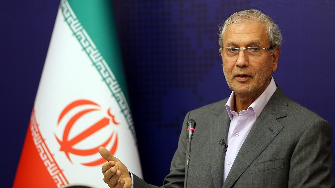 Iranian government spokesman Ali Rabiei speaks during a news conference in the capital Tehran on July 22, 2019. (File photo: AFP)