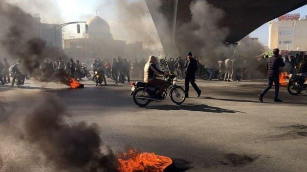 الاتحاد الأوروبي يدعو إيران لإنهاء العنف ضد المتظاهرين