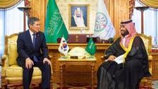 Saudi Arabian Crown Prince holds talks with South Korea's defense minister