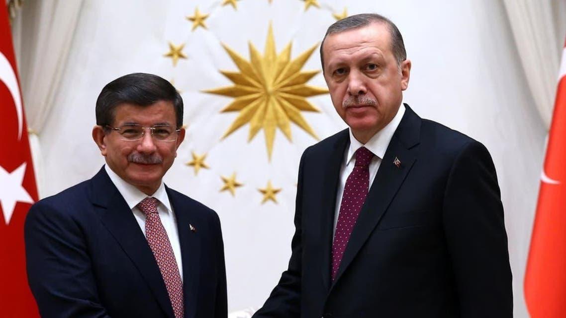اردوغان وداود أوغلو