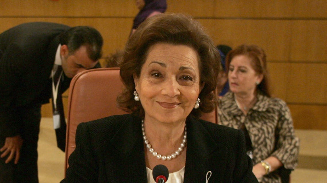 Susan - Suzanne Mubarak as First Lady of Egypt in Tunis on October 28, 2010  (AFP)