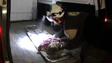 قصف عنيف على إدلب.. ومقتل 21 مدنياً بينهم أطفال