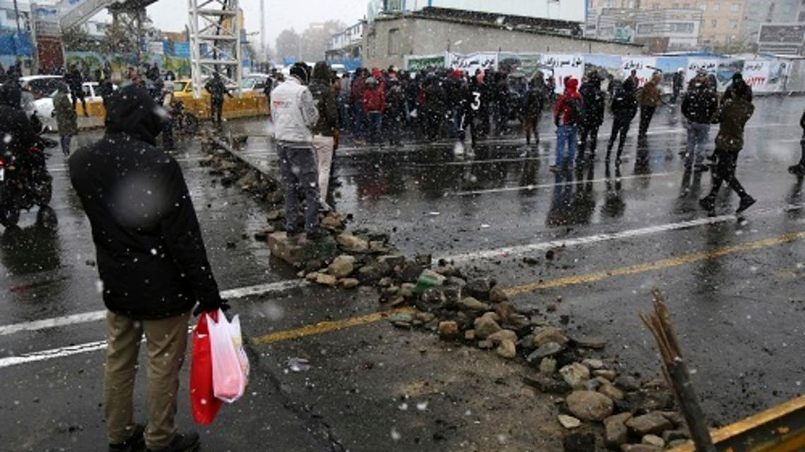 مظاهرات إيران اسوشيتد برس